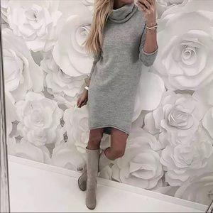 Dresses & Skirts - SALE!! Turtleneck Sweater Mini Dress